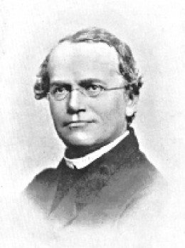 Gregory Mendel, the Father of Modern Genetics. Source: Public Domain, wikimedia commons