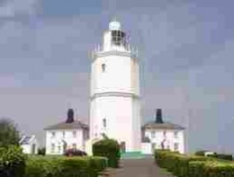 North Foreland Light suffered with dad's attentions!