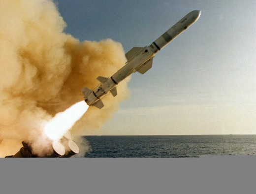 AGM 84 Harpoon Anti Ship Missile