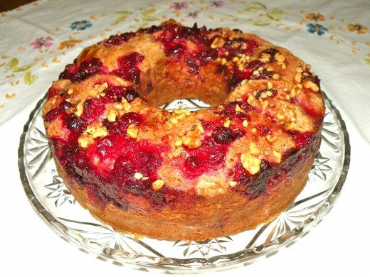 Delicious homemade cranberry coffee cake is perfect for a special breakfast treat!