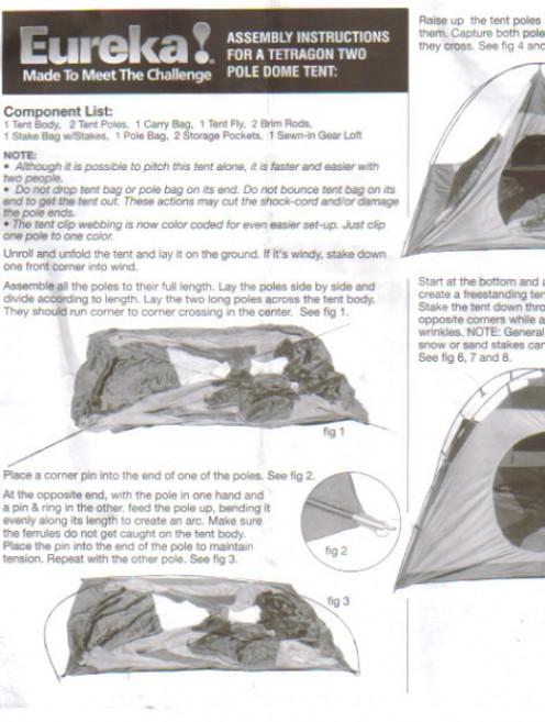 Instruction sheet.
