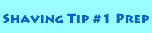 Bikini Line Shaving Tip #1