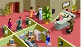 Open Office Arrangement