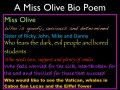 Teaching Characterization with Bio Poems, Examples: Transitioning from Reading to Writing