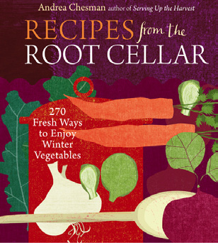 Recipes from the Root Cellar with several books on building and storing food in a root cellar from Cottage Craft Works.