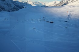Igloo Village view from Gornergrat Bahn, Wallis, Switzerland