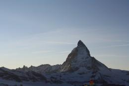Lady Matterhorn view from Gornergrat, Wallis, Switzerland