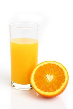Drink orange juice daily