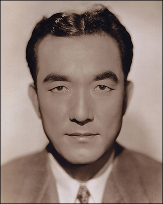 The first major Asian star in U.S. cinema--Sessue Hayakawa--circa 1920s