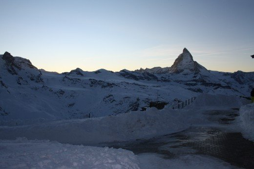Alpine Panorama view from Gornergrat, Wallis, Switzerland