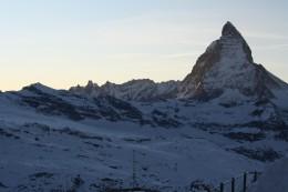 Alpine Panorama view from Gornergrat - Lady Matterhorn, Wallis, Switzerland
