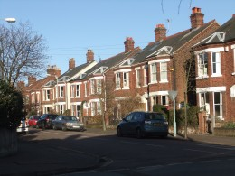 The very popular College Road, situated right in the heart of the Golden Triangle