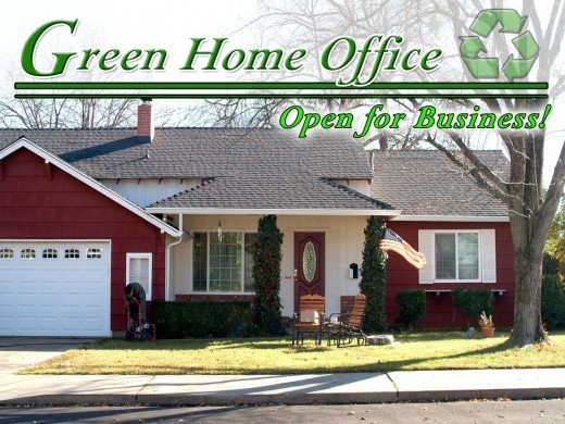 Leave a Smaller Environmental Footprint, turn your Home Office Green!