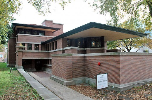 Exterior of the Robie House in Chicago