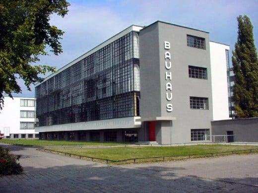 Exterior of the Bauhaus Building