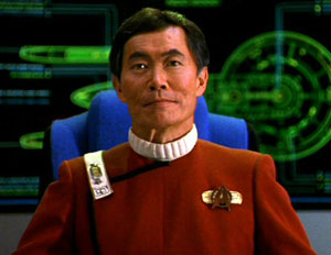 "George Takei as ""Sulu"" in the Star Trek series"