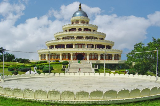 Art Of Living International Center is one the most attractive places in Bangalore.