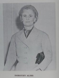 Dorothy Keeley Aldis, 1896-1966