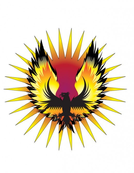 Much like the mythical Phoenix we must reach a bottom to achieve a rebirth in consciousness.