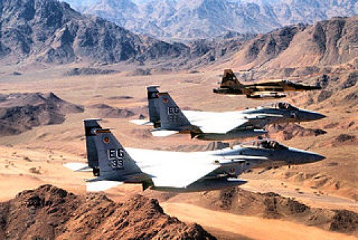 US and SAudi Forces