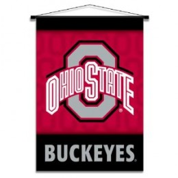 Ohio State Buckeyes banner scroll