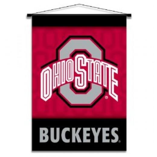 Ohio State Buckeyes banner scroll