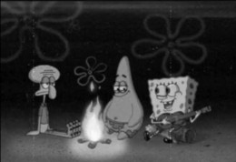 Spongebob Campfire