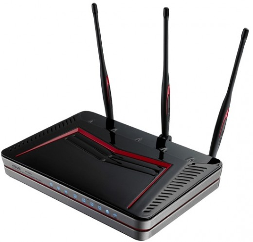 Gaming routers usually have multiple antennaes