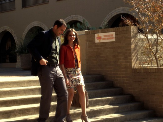 """Chando has a father/daughter moment on """"The Lying Game."""""""