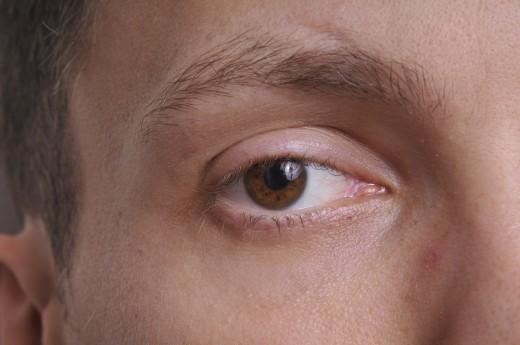 An image of an eye I took