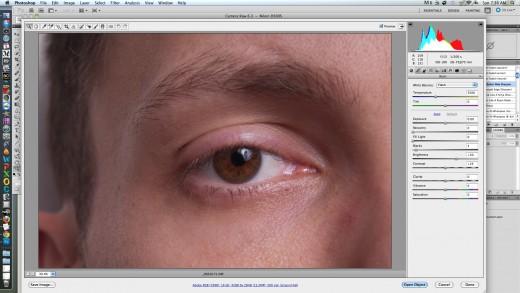 snapshot of Adobe Camera Raw (ACR)