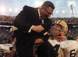 Battles are primarily won in the hearts of men - Vince Lombardi