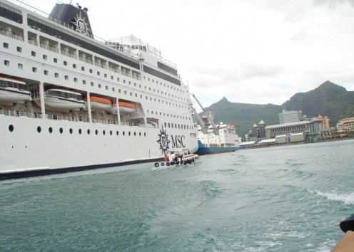 The MSC Sinfonia is the largest cruise ship currently operating from South African waters but not the only available option.
