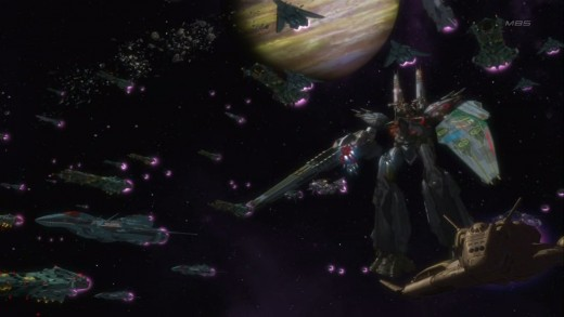 Mecha Animes - Macross Frontier