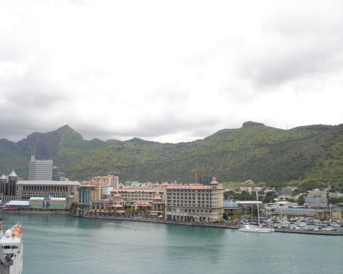 Departing from Port Louis, Mauritius