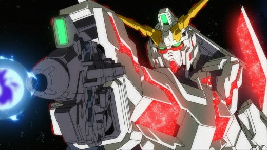 Mecha Animes - Gundam Unicorn