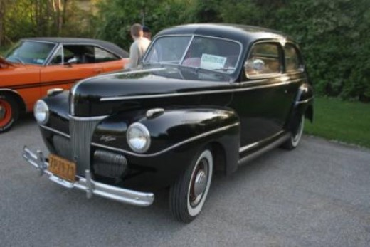The deWahl's 1941 Ford Tudor.  I think the Fordor went with Frodo to Mordor.
