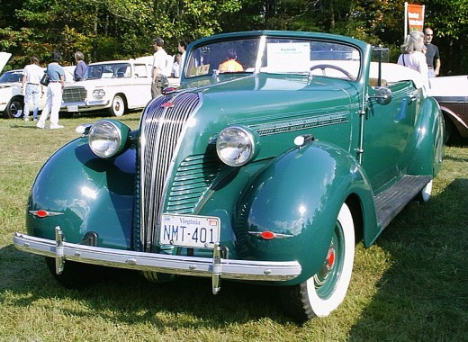 '39 Terraplane.  This former Essex nameplate helped keep Hudson going for several years.