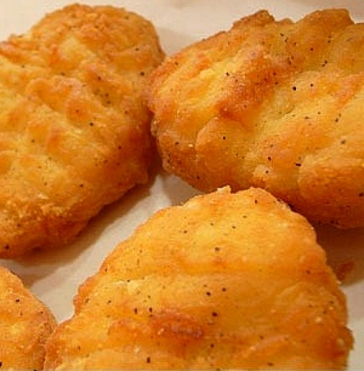 how to make homemade chicken nuggets in deep fryer