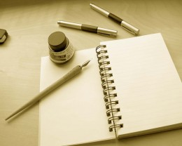 Write something new..
