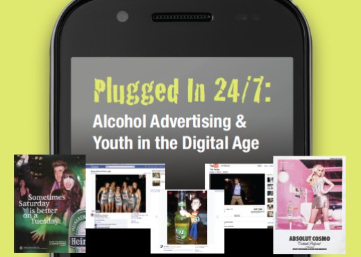 Digital and Social Media Saturates Youth In Alcohol Ads