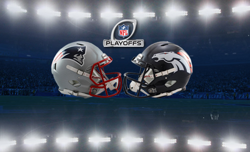The New England Patriots will host the Denver Broncos for the Divisional Round of the NFL playoffs next weekend at Gillette Stadium.