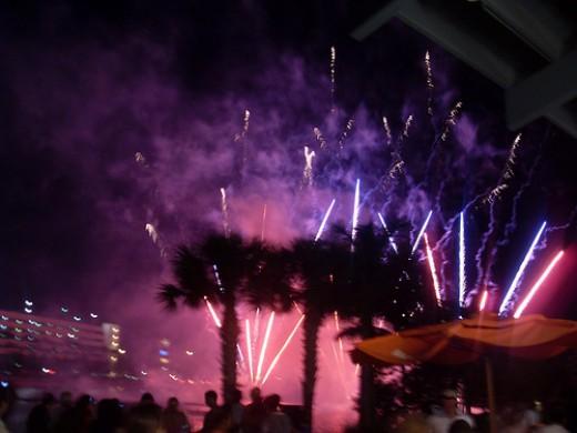 Cinco de Mayo fireworks celebration