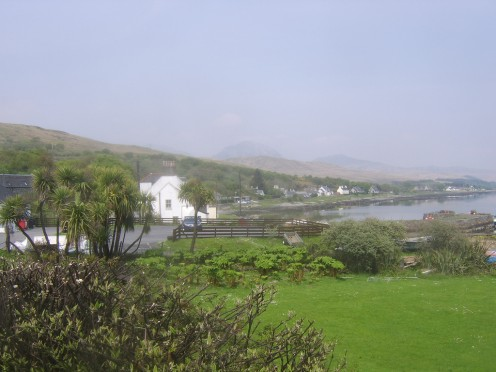 Craighouse is the picturesque capital of Jura and where the island's distillery can be found
