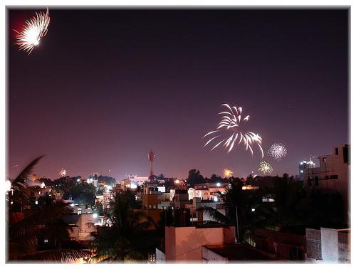 Deepavali firecrackers