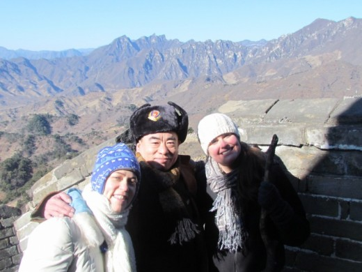 Travel to China , the first thing want to do is visit the Great Wall