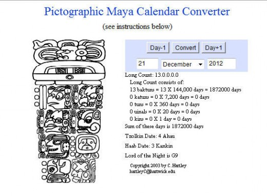 The Mayan calendar sure is complicated!