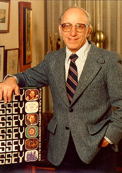 Ralph Baer with the Odyssey.