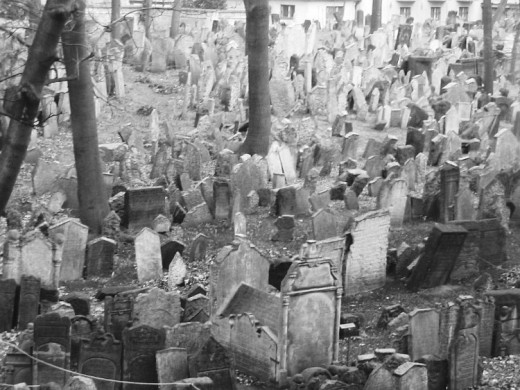 The Jewish Cemetery in Prague