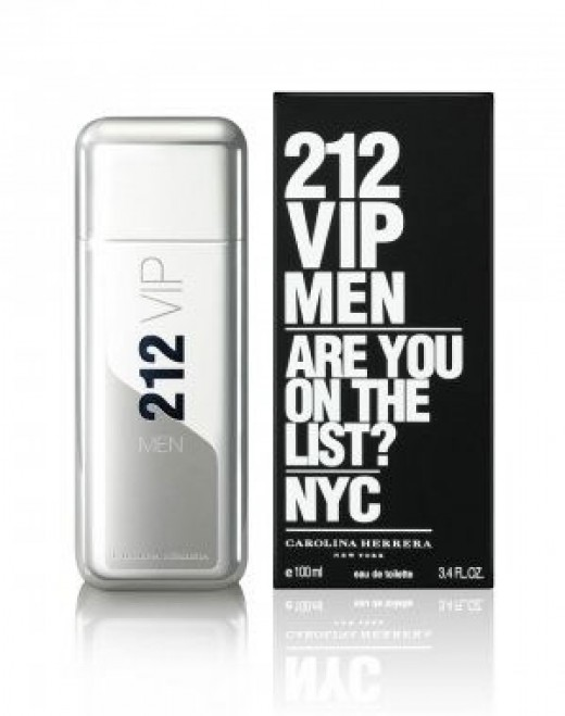 7: 212 VIP Men by Carolina Herrera